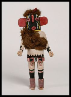 Antique Hopi Pueblo Kachina Doll / C. 1940's / Native American Indian-Southwest. SOLD