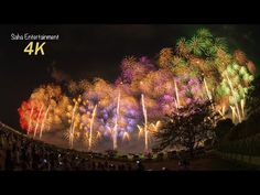 [4K Ultra HD] 2014 世界一美しい長岡花火大会復興祈願花火フェニックス NAGAOKA FIREWORKS PHOENIX - YouTube