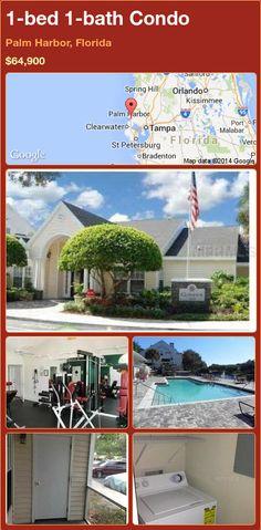 1-bed 1-bath Condo in Palm Harbor, Florida ►$64,900 #PropertyForSale #RealEstate #Florida http://florida-magic.com/properties/73941-condo-for-sale-in-palm-harbor-florida-with-1-bedroom-1-bathroom