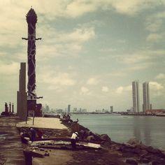 Recife vertical.