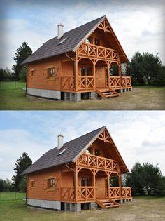 SENDOM.PL - Producent domów drewnianych