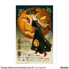 { Retro Halloween / Vintage halloween / Antique Halloween Card / Photo / Photography / Old Halloween Costumes / Mode Halloween, Photo Halloween, Halloween Wall Decor, Theme Halloween, Halloween Clipart, Retro Halloween, Halloween Fashion, Halloween Pictures, Holidays Halloween