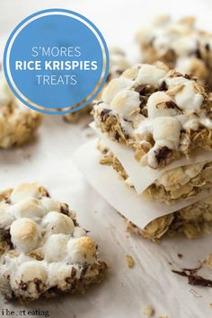 These S'more Granola Bars aren't your average sweet snack idea. With a base of rolled oats and Rice Krispies® cereal, along with a topping of marshmallows and chocolate chips, this recipe is perfectly gooey.