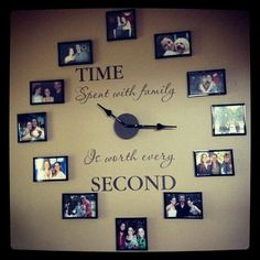Oversized Wall Clock from Candid Photos