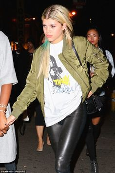 Urban appeal: Sofia Richie cut a typically fashion-forward figure when she stepped out in New York on Sunday