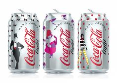 Coca-Cola light cans Marc Jacobs