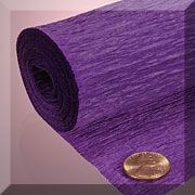19'' wide crepe paper... many colors $1.05 for 3 yards...