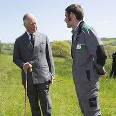 Prince of Wales at Kingcombe Nature Reserve for the 30th Anniversary of Dorset Wildlife Trust