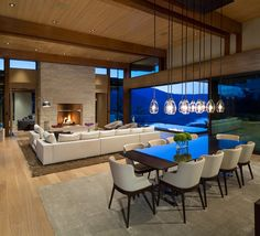 This contemporary mountain home designed by Openspace Architecture is located in Kadenwood Estates, a private enclave in Whistler, British Columbia, Canada.