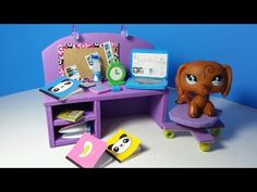 How to make a LPS Bed: LPS accessories - YouTube