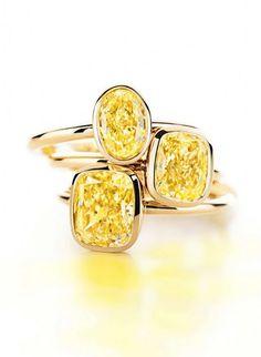 Tiffany yellow diamond ring.