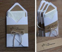 Gastgeschenke - Gastgeschenk Hochzeit - ein Designerstück von Did-it-myself bei DaWanda