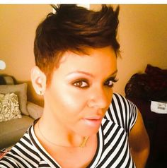 Love this cut! I would keep it a tad bit fuller on the sides is all!