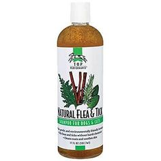 Top Performance Natural Flea and Tick Dog/Cat Shampoo, 17-Ounce New