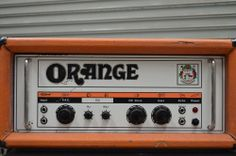 WOW! 1974 Orange OR120 Vintage Tube Amplifier  Made in England