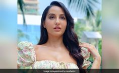 Nora Fatehi nach Meri Rani song glamorous video viral on internet Famous Singers, So Much Love, Bollywood Actress, Her Style, Frocks, Dancer, Internet, Glamour, Actresses