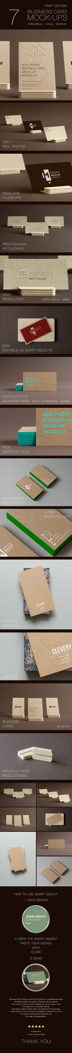 Branding / Identity / Business Card Mock-Up on Behance