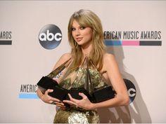 Taylor Swift, la artista más premiada en American Music Awards con su nuevo disco Red. Conoce los otros ganadores.