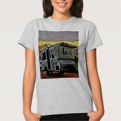 (A-Frame Camper shirt) #A #ALiner #Aliner #Campers #Camping is available on Funny T-shirts Clothing Store   http://ift.tt/2cJg7h7