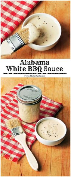 Alabama White BBQ Sauce Tangy and creamy, if you are looking for ...