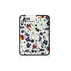 """WD My Passport ART USB 3.0 1TB Flowerlike Violets 2.5"""" External Hard Disk Drive / ebay ID, STORE - iamtov"""