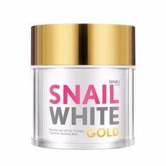ซื้อเลย  NAMU LIFE SNAILWHITE GOLD 50 ML.  ราคาเพียง  990 บาท  เท่านั้น คุณสมบัติ มีดังนี้ นามุ ไลฟ์ สเนลไวท์ โกลด์ ครีมย้อนวัยผิวเพื่อผิวอ่อนเยาว์และสุขภาพดี&