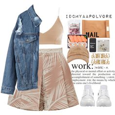 SCHOOL TMRW by idcmyaa on Polyvore featuring NIKE, Akira, Topshop and Atmos&Here