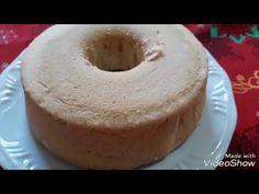 Bolo Chiffon, Sem Gluten Sem Lactose, Bagel, Doughnut, Salsa, Food And Drink, Bread, Desserts, Youtube