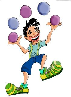 Esta semana presentamos al malabarista. Siempre lanzando cosas por los aires. Nosotros vamos a hacer pelotas de malabarista con arroz y gl...