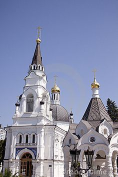 Three Church Towers In Sochi, Russia  © Photobulb