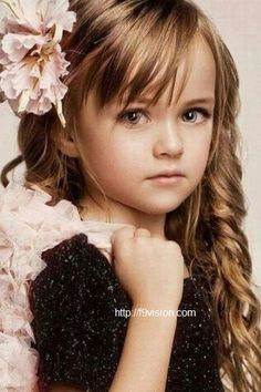 Cute Hairstyles for Kids with Curly Hair-2 #prom hairstyles