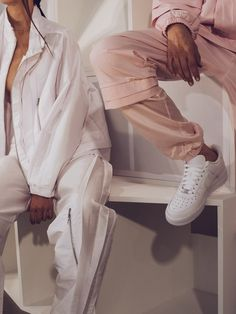 crisp white trainers and no laces in sight - get the look with new innie for ss16 - http://www.fashionmusicetc.com/whats-new.html