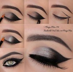 Makeup Ideas For Prom - Faddish Icon - These Are The Best Makeup Ideas For Prom and Homecoming For Women With Blue Eyes, Brown Eyes, or Green Eyes. These Step By Step Makeup Ideas Include Natural and Glitter Eyeshadows and Go Great With Gold, Silver, Yellow, And Pink Dresses. Try These And Our Step By Step Tutorials With Red Lipsticks and Unique Contouring To Help Blondes and Brunettes Get That Vintage Look. - thegoddess.com/makeup-ideas-prom #makeupideasforhomecoming