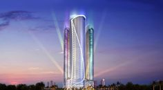 real estate companies can provide you with the best designs that you want. In this way, you are rest assured that your properties can increase its value easily. World Expo 2020, Virgin Atlantic, In 2015, Real Estate Companies, Skyscraper, Dubai, Cool Designs, Multi Story Building, Awesome