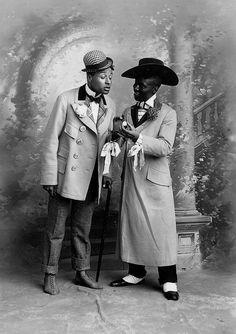 Dashing gents, 1904