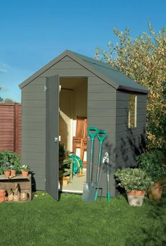 This colour for the shed