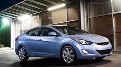 Hyundai Elantra 2013. This is my car!
