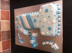 Boys Number one birthday cake