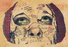 Postcard Series Promoting Mental Health Art Show by nickegglington, via Flickr