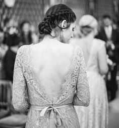 TH&TH launch their collection of elegant bridesmaid dresses. Sophisticated design with experienced craftsmanship makes a TH&TH dress a true one of a kind. The delicate lace scallop back detail of the 'Alara' dress is incredible to see as you walk down the aisle.