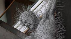 London, UK artist David Mach #art #sculpture