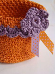 crochet basket ~ Color Inspiration