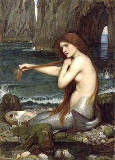 Sereia, 1900 John William Waterhouse (Inglaterra, 1849-1917) óleo sobre tela, 98 x 67 cm Royal Academy of Arts, Londres