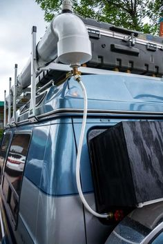 DIY half inch valve attached to bulk union running through rear window - van life Camping Diy, Truck Bed Camping, Camping Ideas, Camping Hammock, Kayak Camping, Winter Camping, Camping Outdoors, Kombi Trailer, Camper Trailers