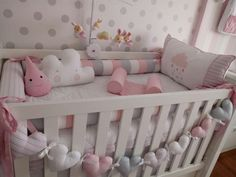 28 ideas for baby cribs bedding children Baby Crib Bedding, Baby Bedroom, Baby Boy Rooms, Baby Room Decor, Baby Cribs, Kids Bedroom, Baby Cot Bumper, Baby Room Closet, Baby Closet Organization