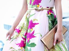 ExtraPetite.com - Spring wedding wear: floral  gold at the Boston Harbor