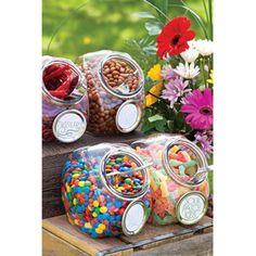 Idée DIY: un bar à bonbons gourmand - Pinterest: 10 DIY pour un mariage petit budget
