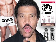 "#REPORT: #Lionel Richie Cashing In on ""#AMERICAN IDOL"" Themed Undies, Candles, Shot Glasses..."