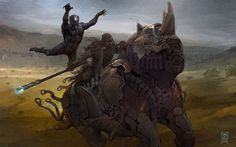 ArtStation - Black Panther overtakes a Rhino, Vance Kovacs