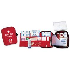 Stansport Pro II First Aid Kit - 42 Pieces - Great for a closet or kitchen cabinet, the Stansport Pro II First Aid Kit - 42 Pieces is a durable, easy way to stay prepared. Homestead Survival, Survival Prepping, Emergency Preparedness, Camping Survival, Survival Gear, Camping Gear, Camping First Aid Kit, Emergency First Aid Kit, Lesson Plan Examples